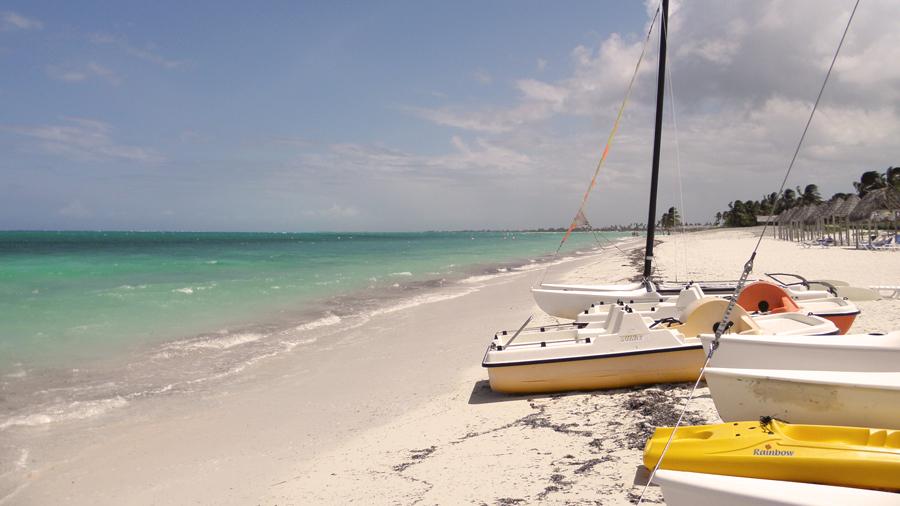 ТОП 5: Лучшие пляжи Кубы Playa-Santa-Lucia-003
