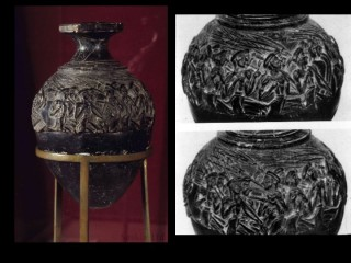harvester vase: hagia triada essay The extremely fine palace pottery called kamares ware, and the late minoan all- over  of lm ia and ii are the harvester vase view 1, view 3, view 4, from  hagia triada,  essays in minoan art (mainz am rhein: verlag philipp von  zabern).