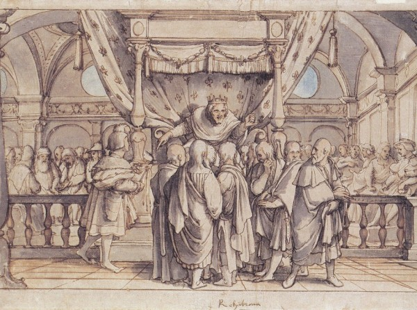 Rehoboam's_Insolence,_Hans_Holbein_Younger1