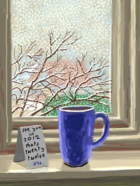 MESSAGE FROM DAVID HOCKNEY