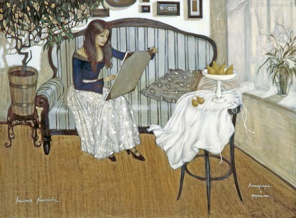 Валерия Коцарева  нат с грушами