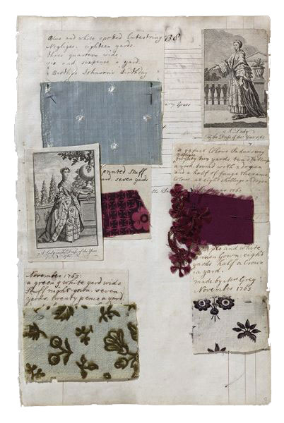 Album-with-textile-samples-and-fashion-plates-compiled-by-Barbara-Johnson-England-1746-1823