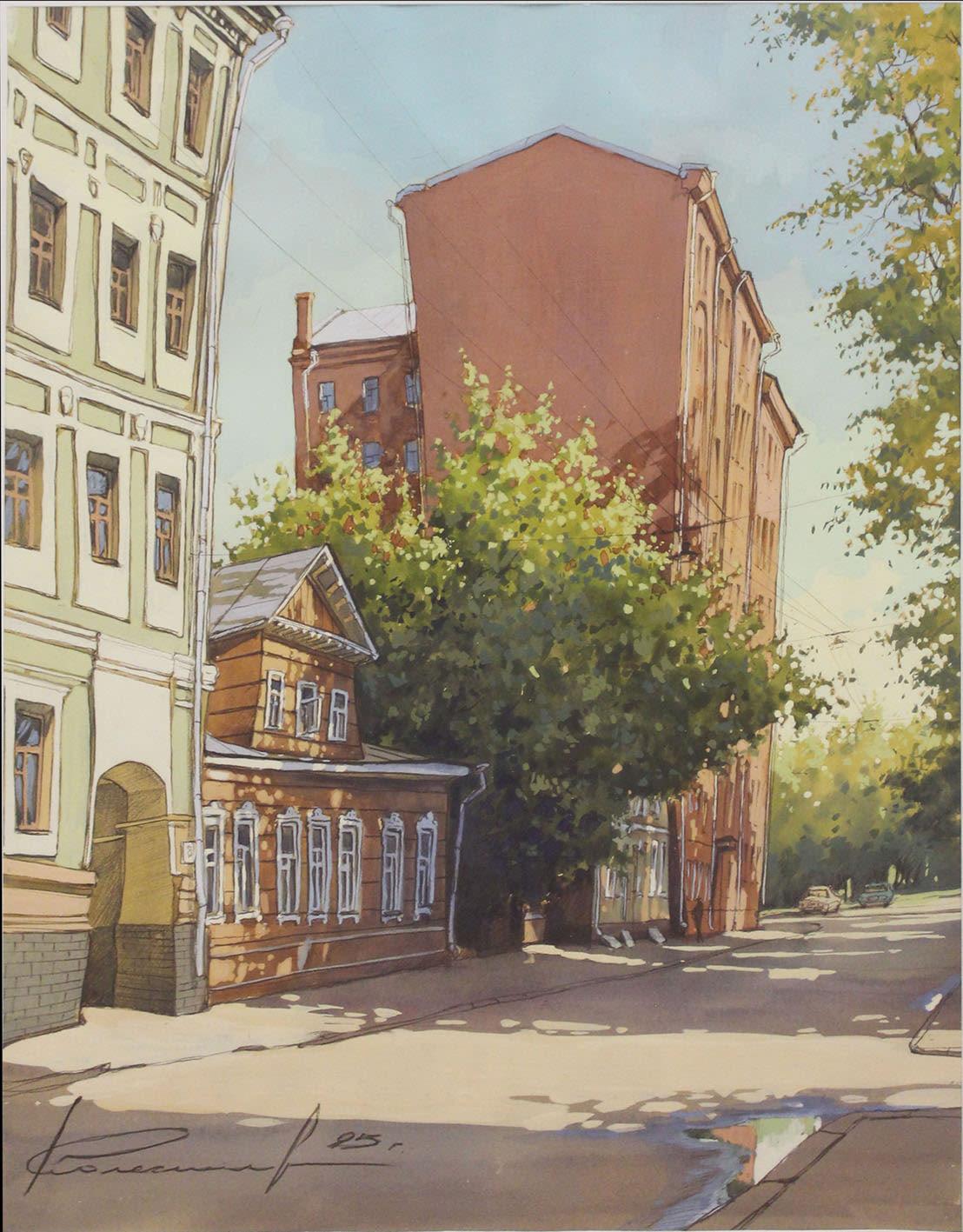 Дворик на улице Зацепа