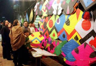 Basant, kite-flying festivities