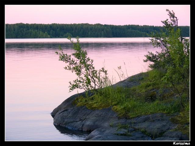 Кедрозеро на закате