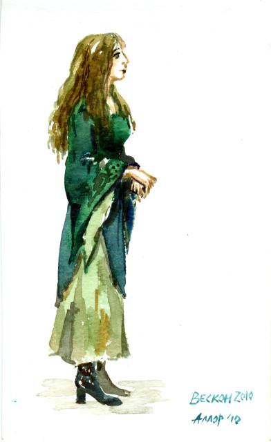 Аллор. Рисунок с Вескона-2010