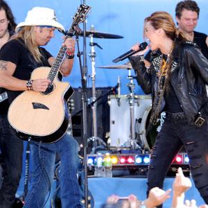 Miley Cyrus & Bret Michaels