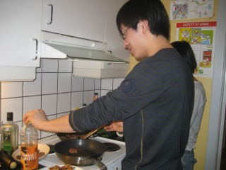 Hua (from China) cooking