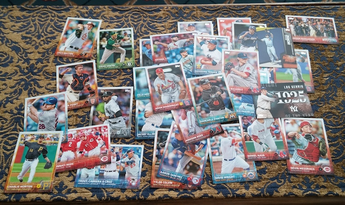 new baseball cards!