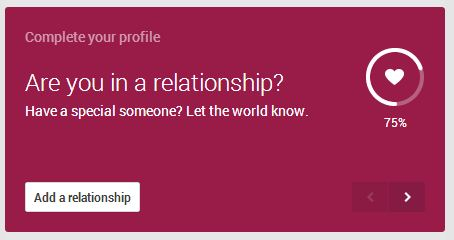 Google+: Are You In A Relationship?