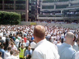 Broadgate Circle, 23-Jun-2010