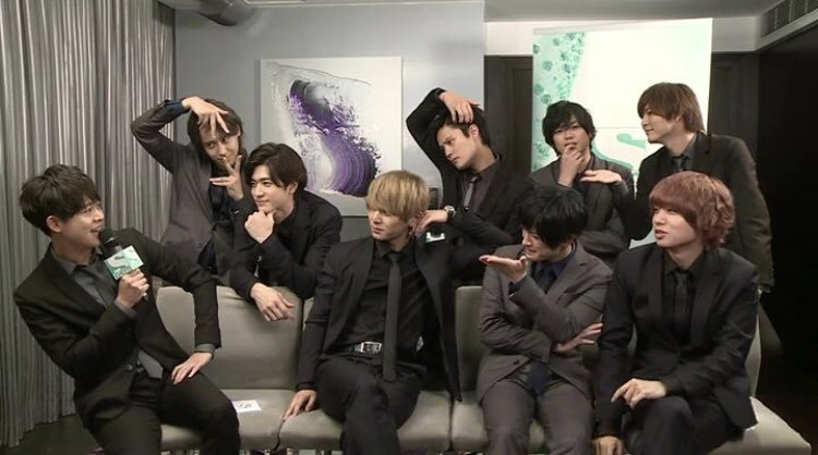 Hey! Say! JUMP live on GEM TV Facebook : jenichi_kamine