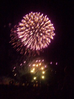 fireworks from last year, here in Clovis