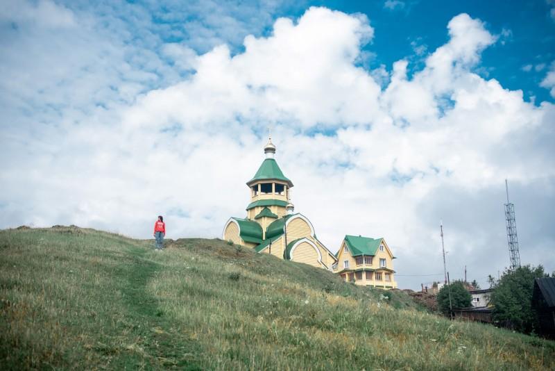 Храм во имя святой блаженной Ксении Петербургской в Уральце