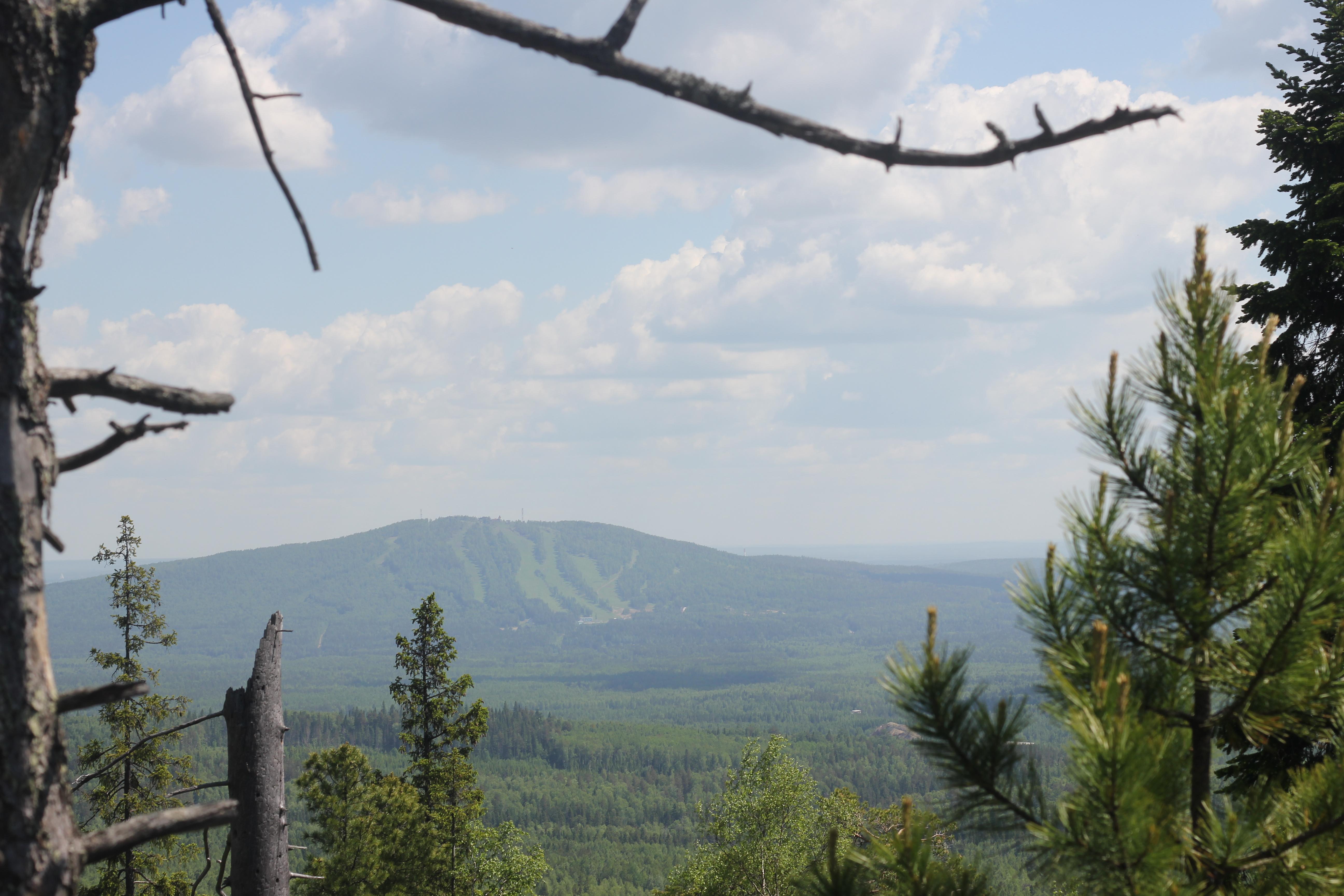 Вид на Ежовую гору.