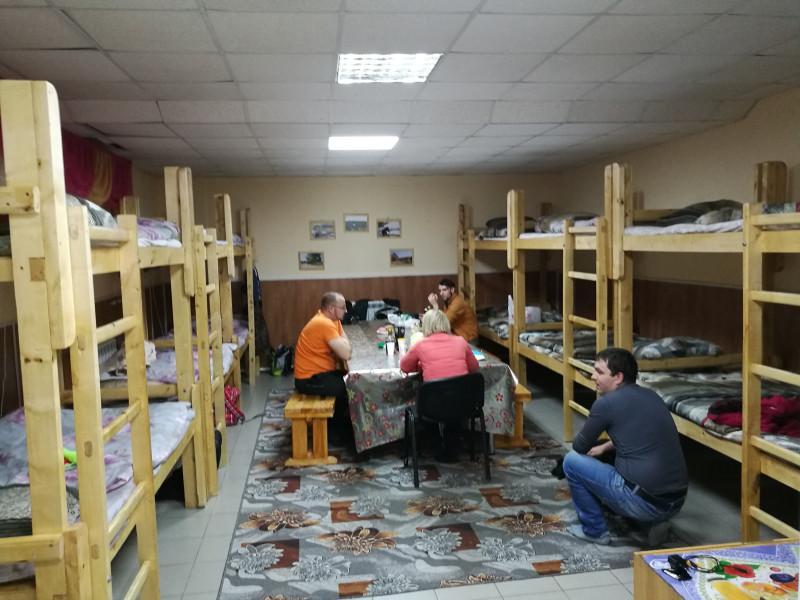Так выглядит наша комната в хостеле