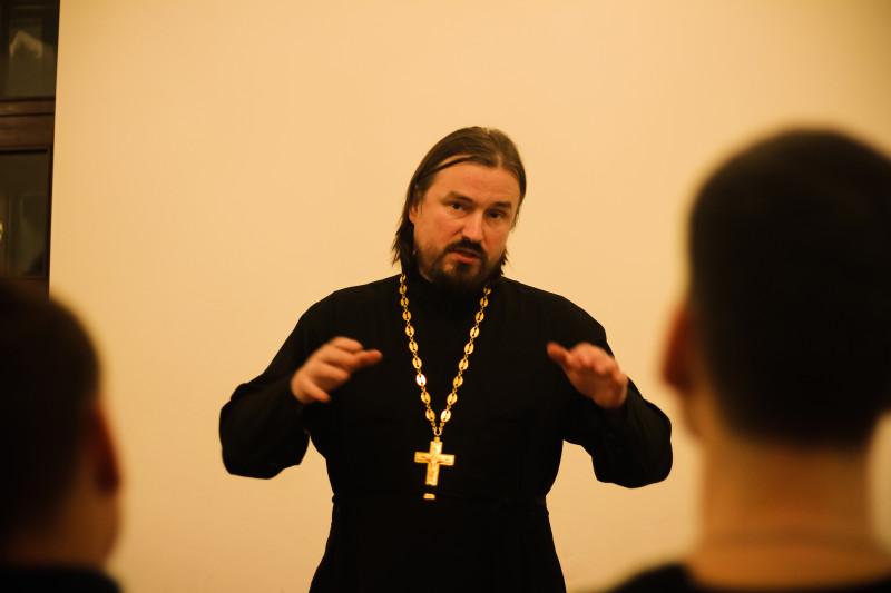 Отец Сергий, руководитель православного молодёжного движения Прикамья