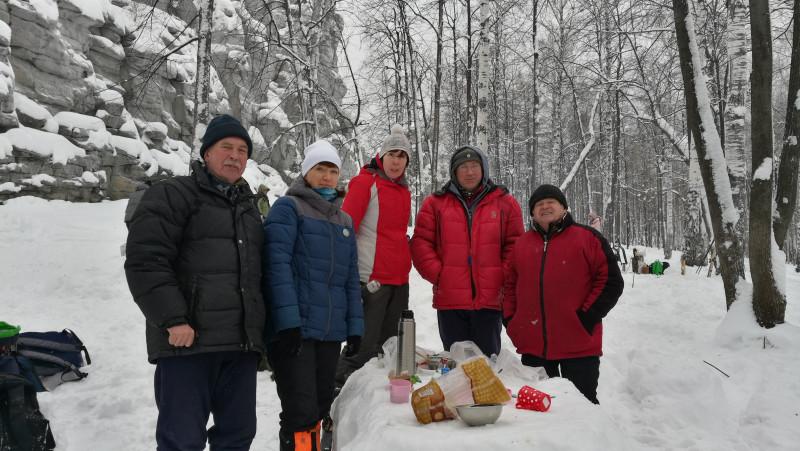 10. февраль 2019 - поход на Семь братьев
