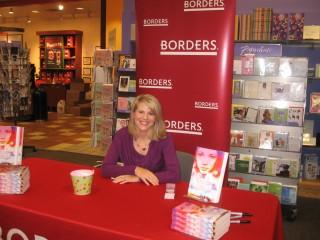 Borders signing in Bridgewater, NJ: jenniferjabaley