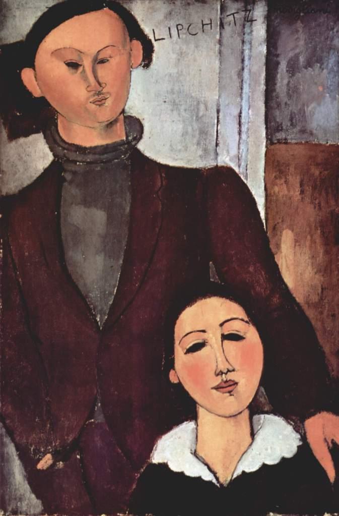 Amadeo-Modigliani-Jacques-Lipchitz