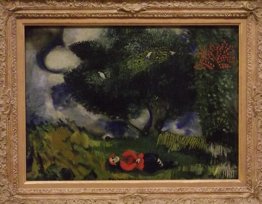 chagall poet 1911
