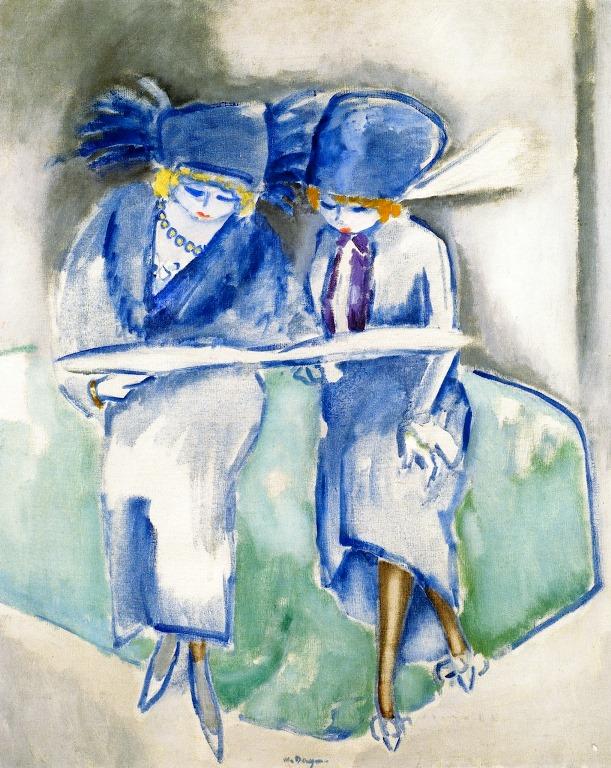 VanDongen_Two Cousins_1914_1916s