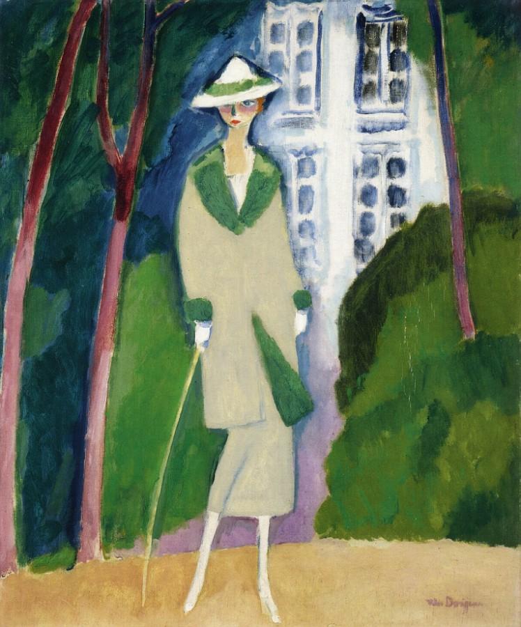 VanDongen_Sarah Rafale in the Bois de Boulogne_1923_1924