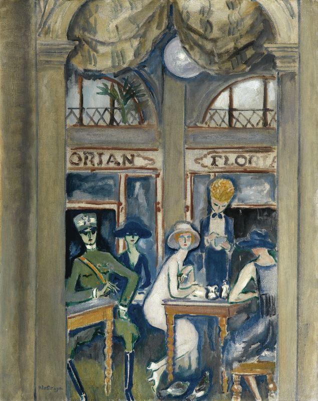 VanDongen_Café Florian_Venice_1921s