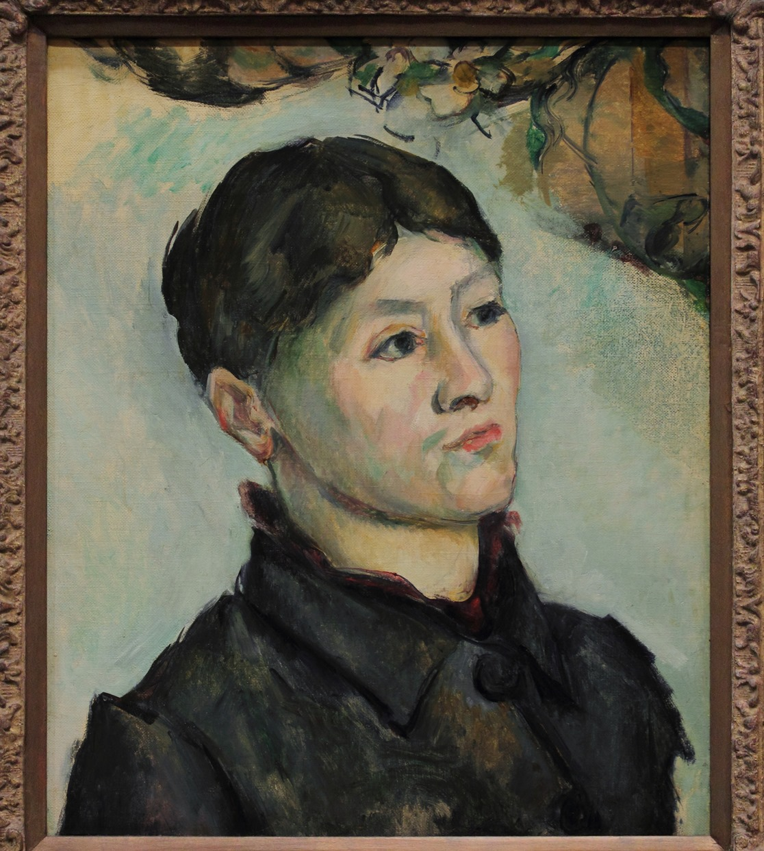 Cezanne madame cezanne 1885_1887