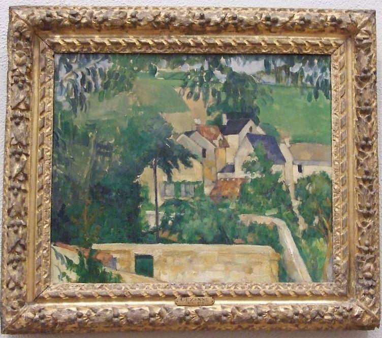 Cezanne Landscape, Auvers 1873 Philadelphia Museum of Art 2