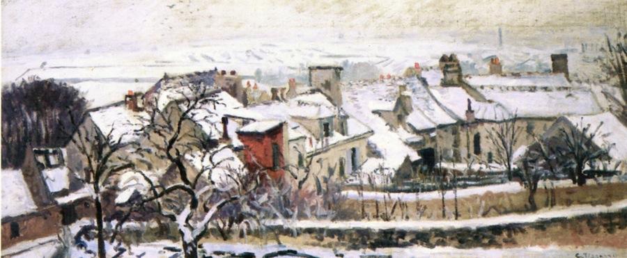 Pissarro The Four Seasons Winter 1872