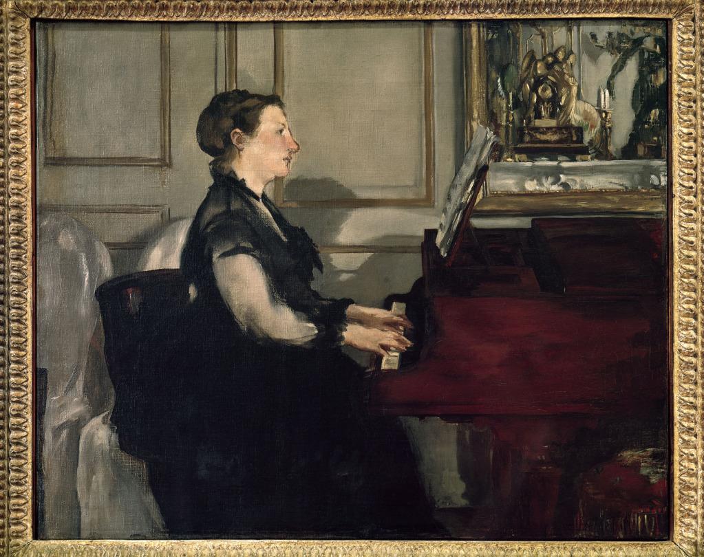 MadameManetatthePiano_1868