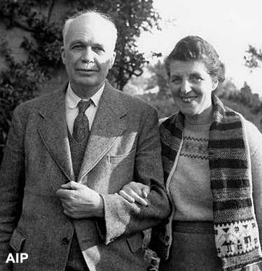 Lawrence Bragg and Wife