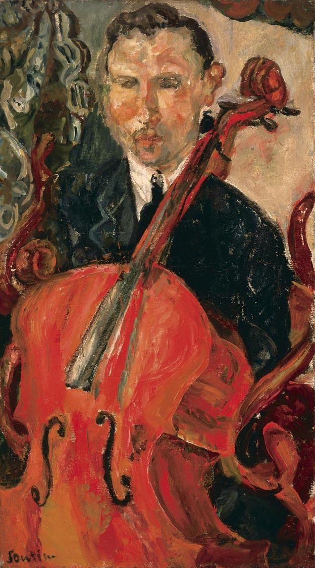 Soutine_cellist_1916