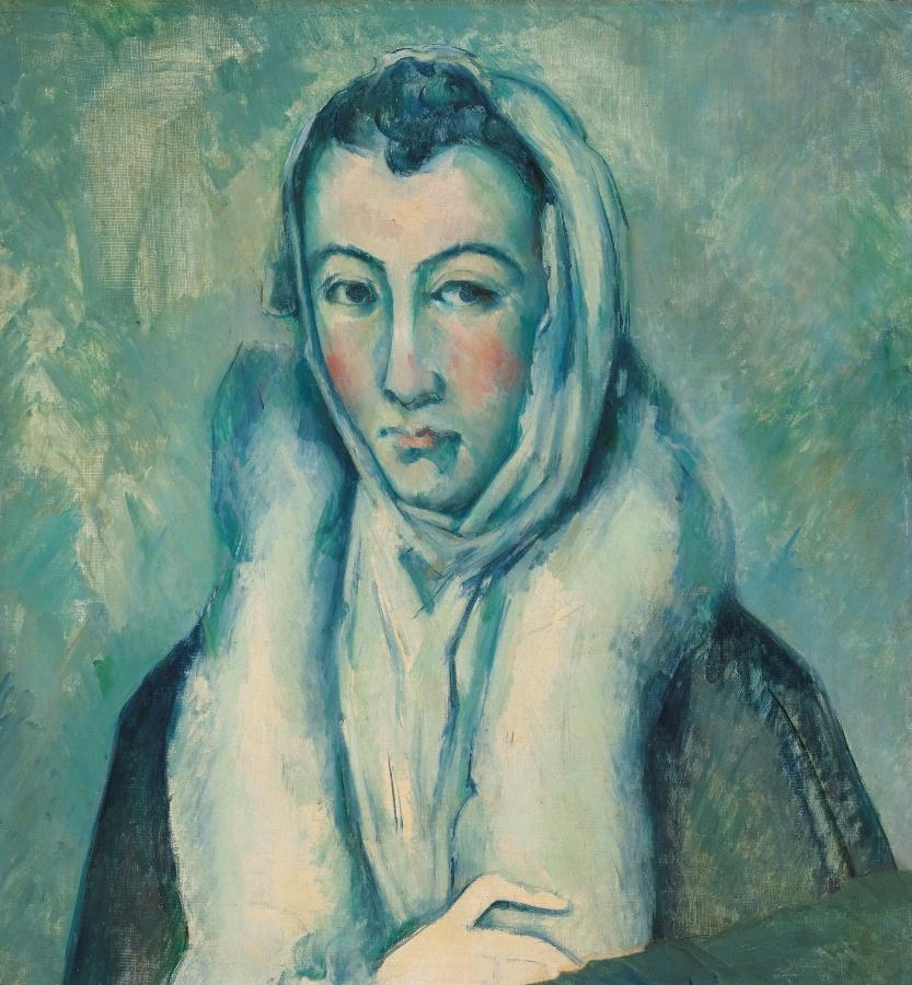 Cezanne lady in fur1