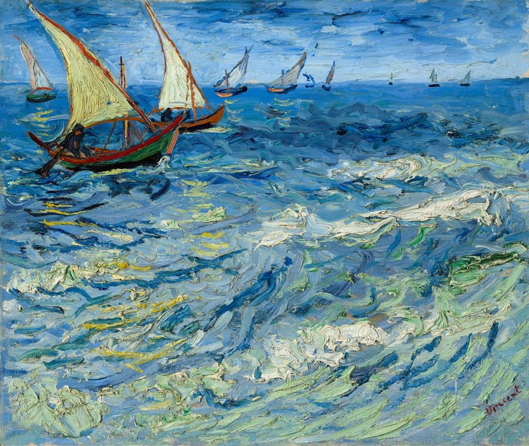 Van Gogh 1888 sea1a