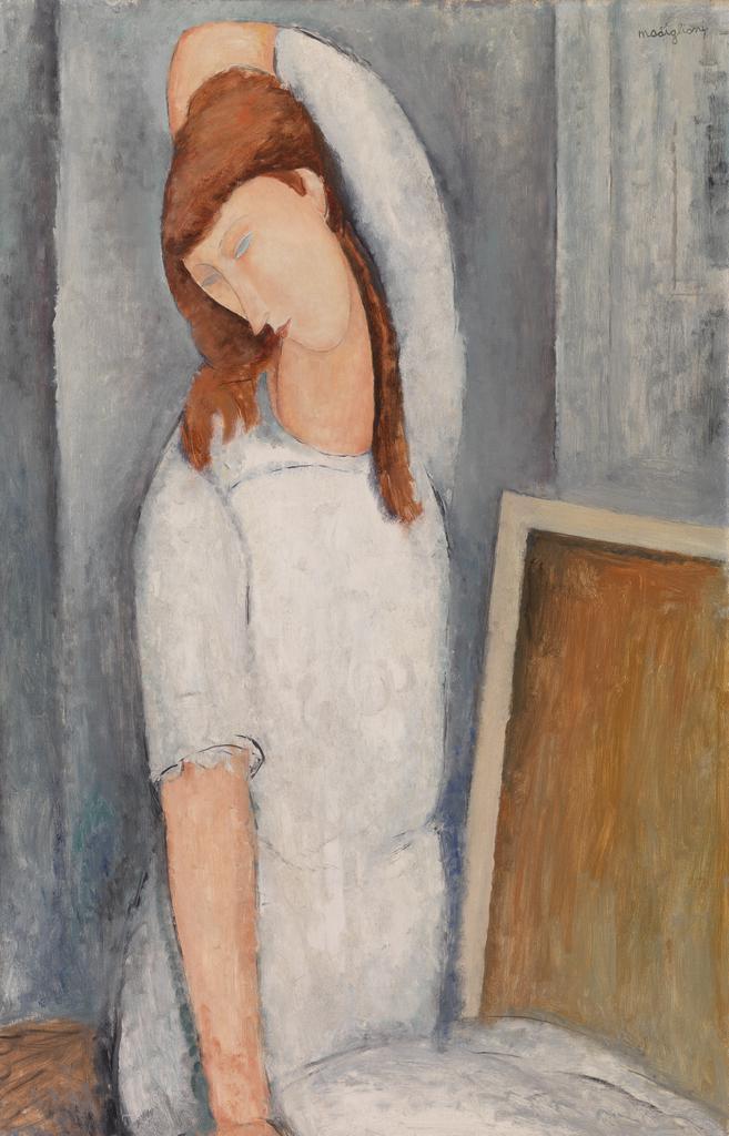 10 портретов Жанны Эбютерн Jeanne7_1919_barnes