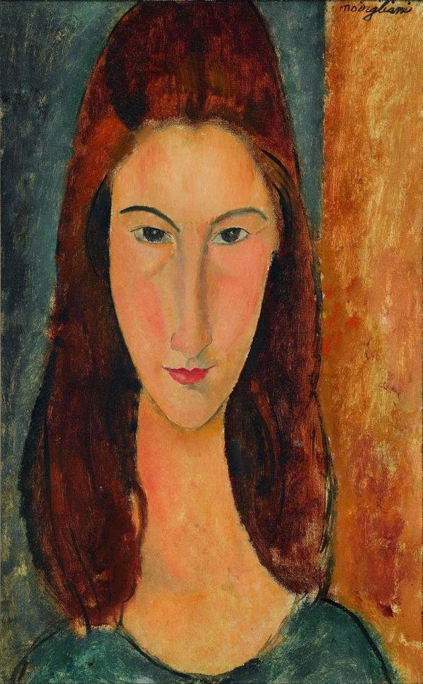 10 портретов Жанны Эбютерн Jeanne3_1919_private