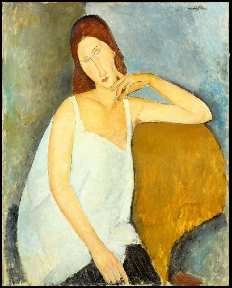 10 портретов Жанны Эбютерн Jeanne2_1919_metropoliten1
