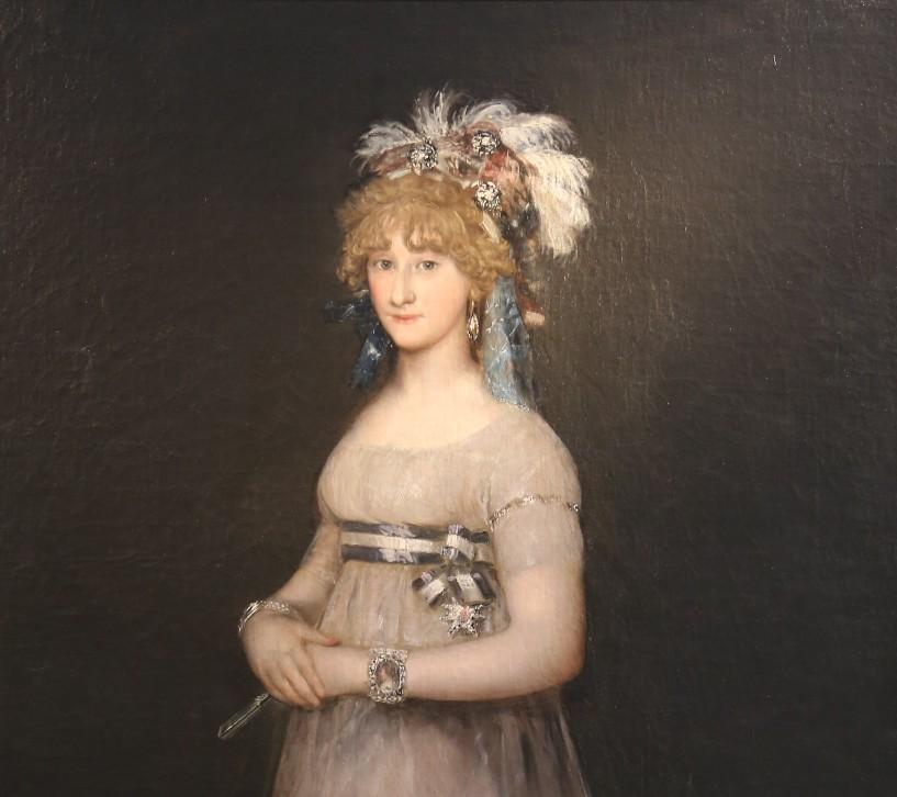 Portrait of the Countess of Chinchón_Uffizi_1797_1800_3