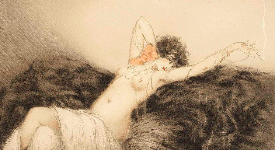 louis_icart_smoke_1926