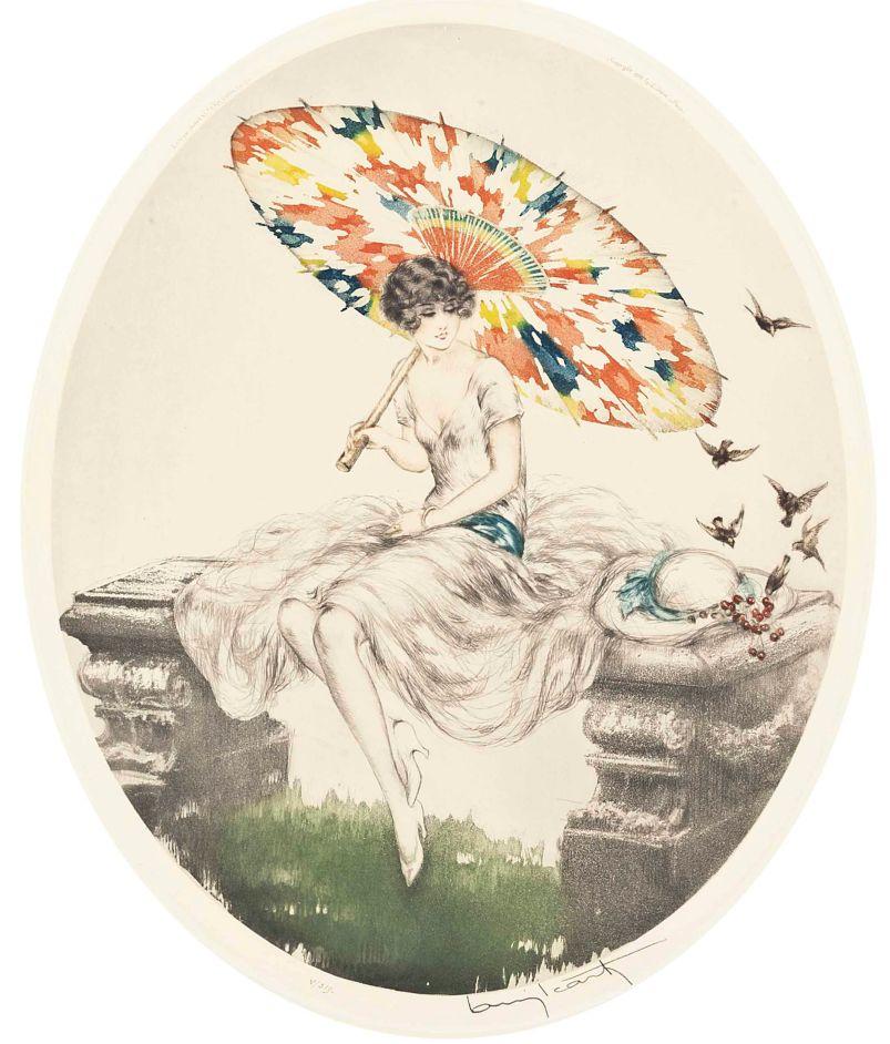 Louis_icart_parasol_1928a