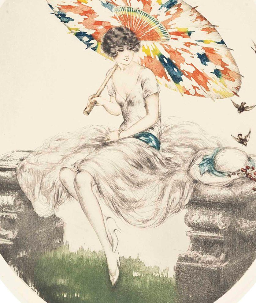 Louis_icart_parasol_1928c