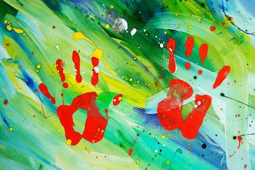 Рисуем абстракцию для детей