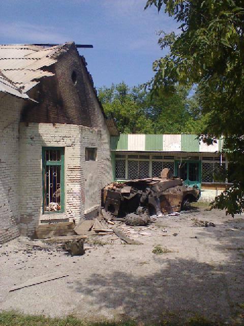 Лисичанск, июль 2014