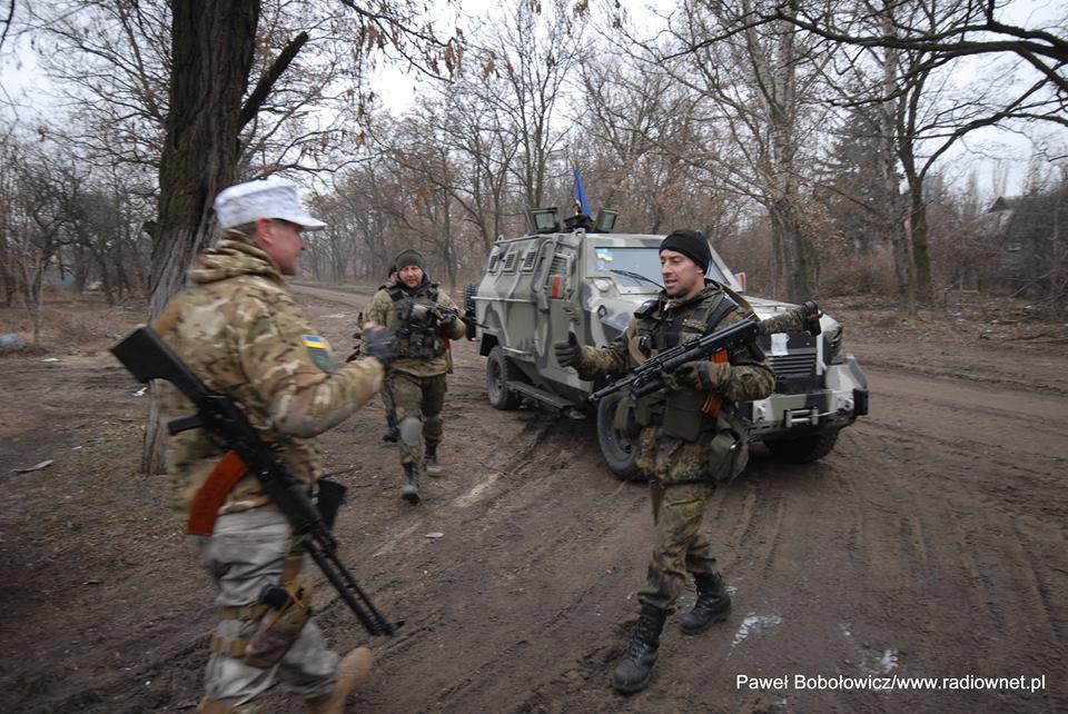 Декабрь 2015, близ Донецка