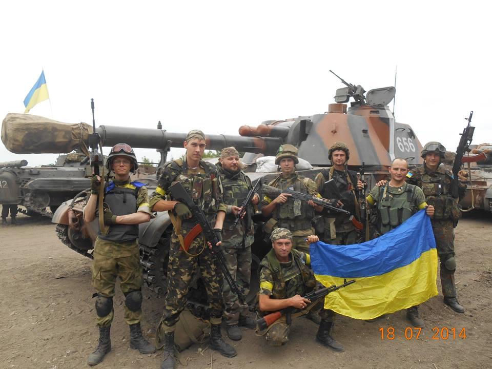 Вторая половина июля, БП ВСУ под Луганском