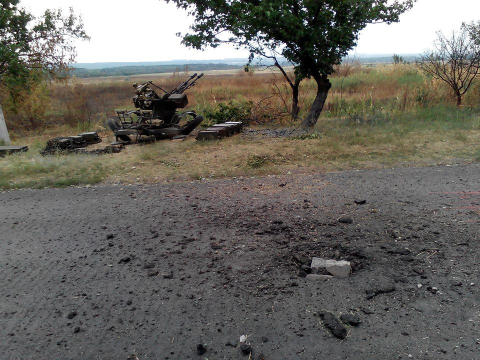 07.10.2014, возле Луганска