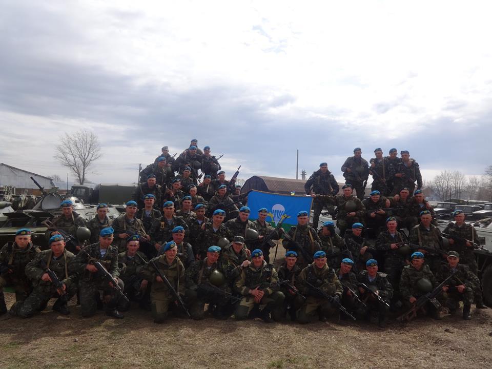 Апрель 2014, 80-ая оаэмбр под Изюмом