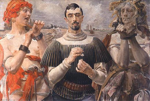 Malczewski Hamlet Polski 1903